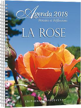 Agenda 2018 - La Rose  ---  50% de RABAIS