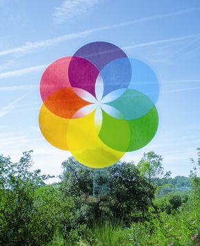 The Mystic Rose - Window sticker