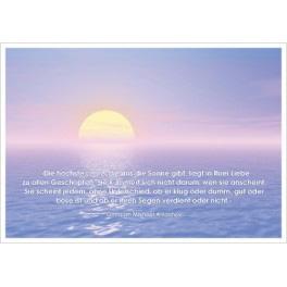 Postkarte - Sonnenaufgang 2