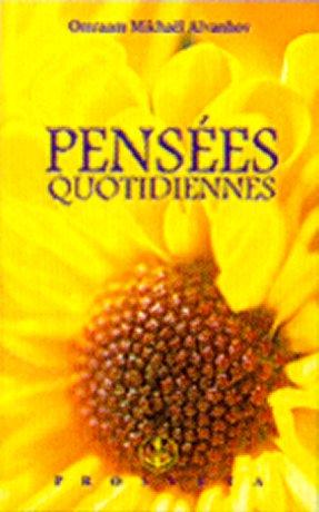 Pensées Quotidiennes 2001