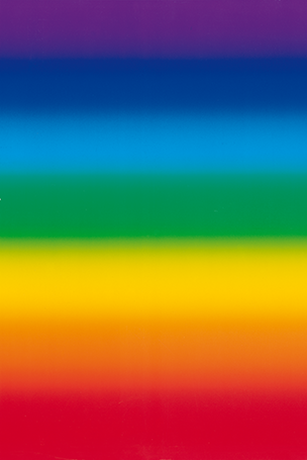 L'Arc-en-ciel - format 34 x 100 cm